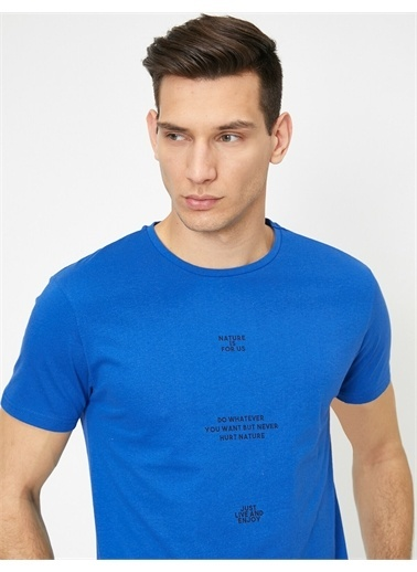 Koton Tişört Mavi